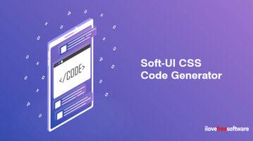 Soft-UI CSS Code Generator