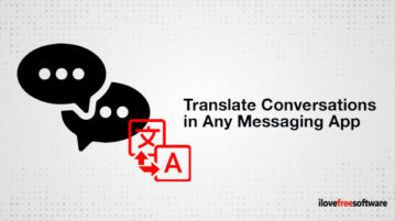 Translate Conversations in Any Messaging App