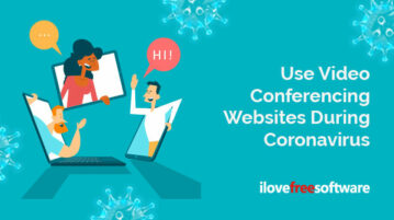 Use Video Conferencing Websites During Coronavirus