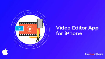 Video Editor App for iPhone