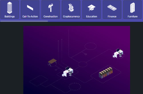 add isometric assets to your illustration