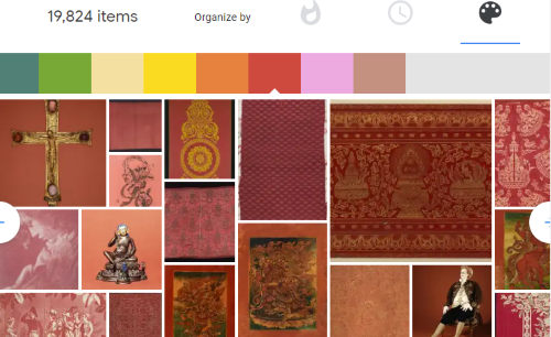 browse collection by color
