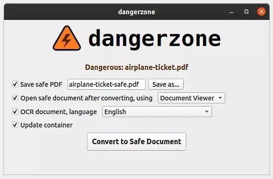 Convert Dangerous PDFs, Images into Safe Files