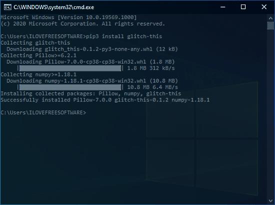 glitch-this command line image glitch tool