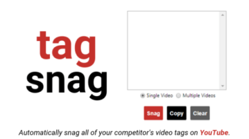 Extract Tags of Multiple YouTube Videos in 1-Click