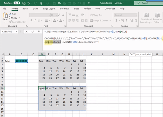 LET Function in MS Excel