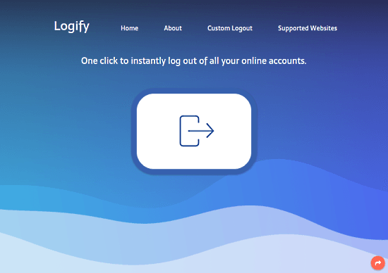 Log Out from All Online Accounts in 1-Click