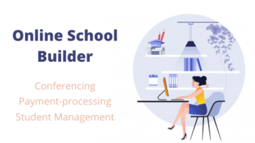 Free Online School Builder with Conferencing, Payment-processing, Student Management