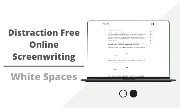 Free Online Screenwriting Tool with Analytics, Scene Selection, PDF Export