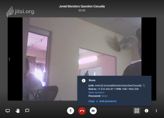 Open Source Video Conference Tool with no account