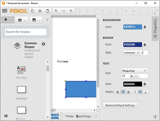 Cross Platform Open Source GUI Prototyping Tool