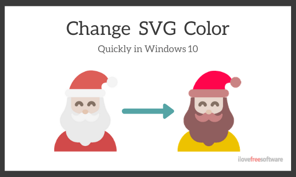 Quickly Change SVG Color on Windows 10 with Free SVG Color Editor