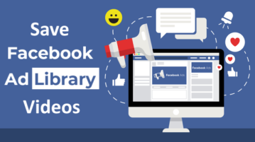 Save Competitors' Facebook Ad Videos for Future Reference
