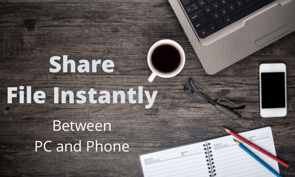 Use QR Code to Share Files Between PC and Phone