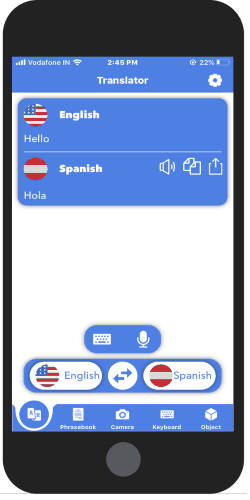 voice translator app for iPhone