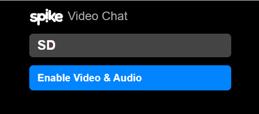 Enable Audio and Camera