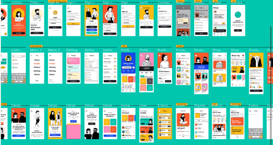 CC0 Wireframe kit for Prototyping, Supports XD, Figma, Sketch
