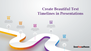 Create Beautiful Text Timelines in Presentations with PowerPoint Designer