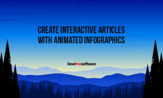 Create Interactive Articles with Animated Infographics, Scalable Images, Carousels Online