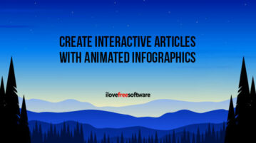 Create Interactive Articles with Animated Infographics