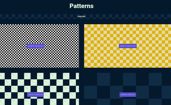 Free CSS Library to Fill Empty Background with Pat