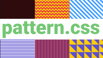 Free CSS Library to Fill Empty Background with Patterns