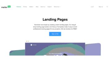 Free Website Builder by MailerLite with Free Hosting, SSL,Custom Domain