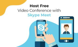 Zoom Alternative: Host Free Video Conference with Skype Meet without Installing Anything