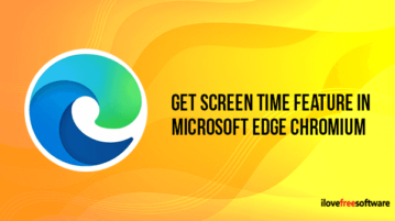 How to Get Screen Time Feature in Microsoft Edge Chromium