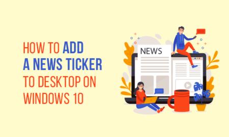 News Ticker for Windows 10