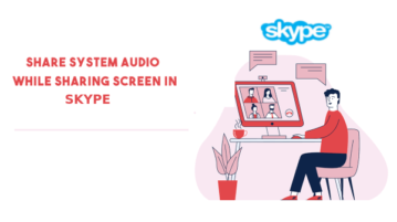 Share system audio in skype meetings