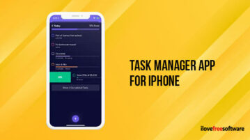 Task Manager App for iPhone
