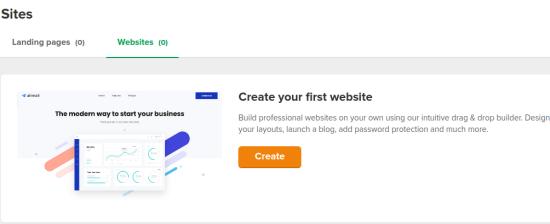 Website Builder by MailerLite with Free Hosting, SSL,Custom Domain
