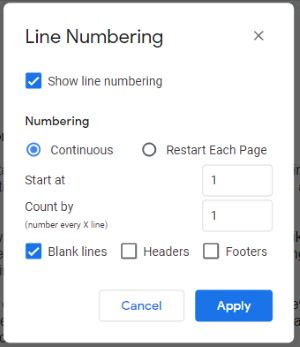 add custom numbers to your documnets