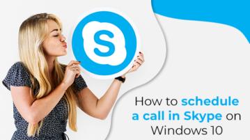 Schedule a Call in Skype