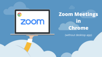 How to Force Zoom Meetings in Web Browser without Desktop App?