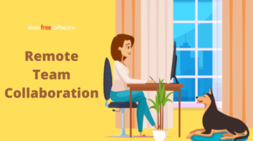 Free Remote Team Collaboration Tool with 1-click Video Calls, Screen Sharing with Controls