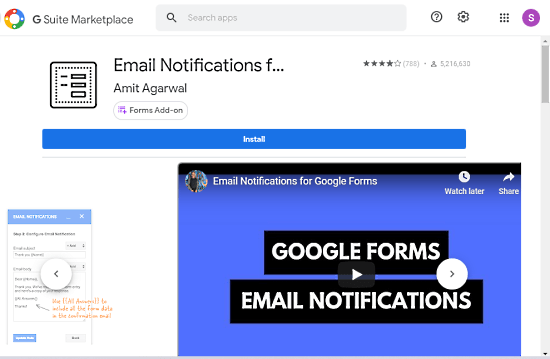 Receive Google Forms Submission Notifications on Phone 01