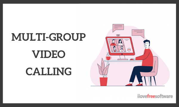 Free Multiple Group Video Calling for Meetings, Discussions, Debates: Knit