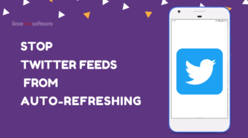 How to Stop Twitter Feeds Automatically Refreshing on Android?