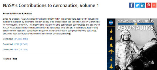 read ebooks by NASA
