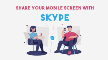 How to Share Your Screen using Skype Android App?
