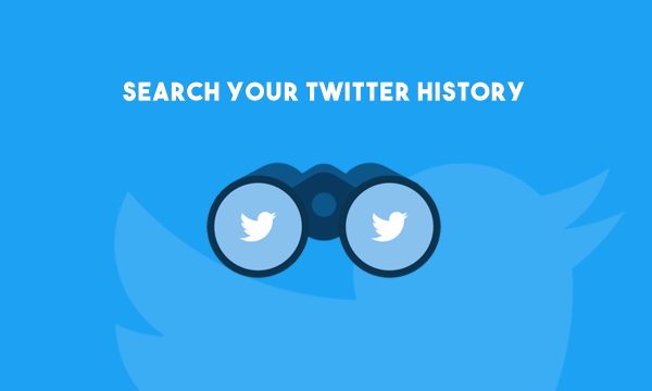 How to Search Your Twitter History?