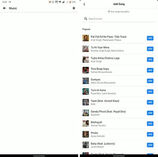 pin music to facebook profile