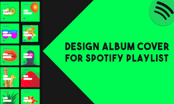 How to Create Custom Cover Art for Spotify Playlists?