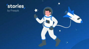 Create Custom Animated Illustrations Online with Stories by Freepik