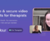 Free Private Video Chat Tool for therapists with Payment Support
