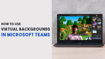 Virtual Background in MS Teams