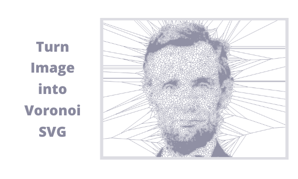 How to Turn an image into a voronoi SVG?