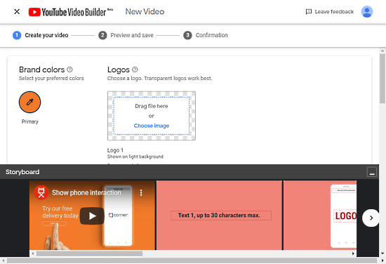 Use YouTube Video Builder to Create Short Video Ads